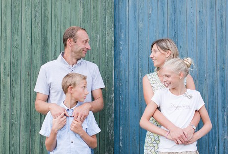 Famille | Virginie, Valery, Léa & Lucas